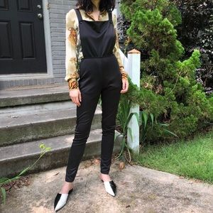 SOLD Vintage silky overalls